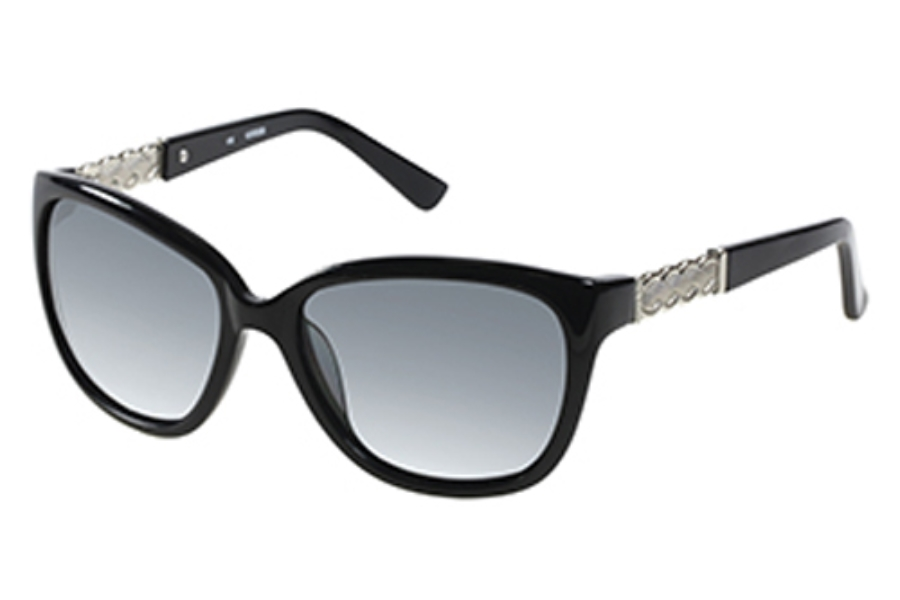 Guess GU 7316 Sunglasses in BLKSI-3: Black