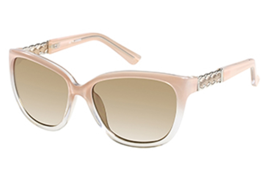Guess GU 7316 Sunglasses in PE-1: Peach