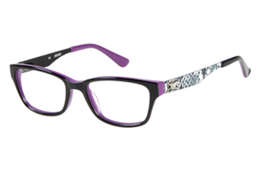 Guess GU 9094 Eyeglasses in B84 BLK: Black