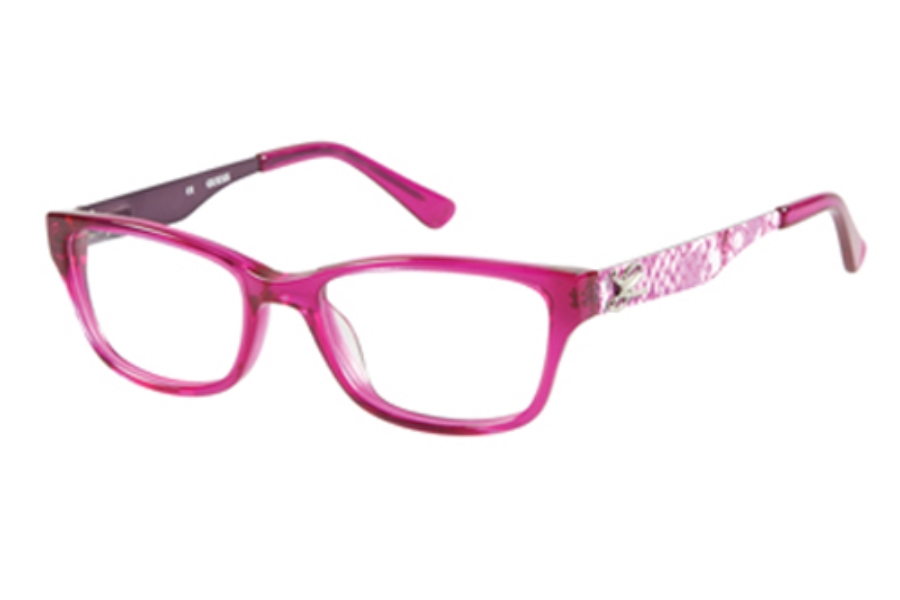 Guess GU 9094 Eyeglasses in H46 FUS: Fuschia