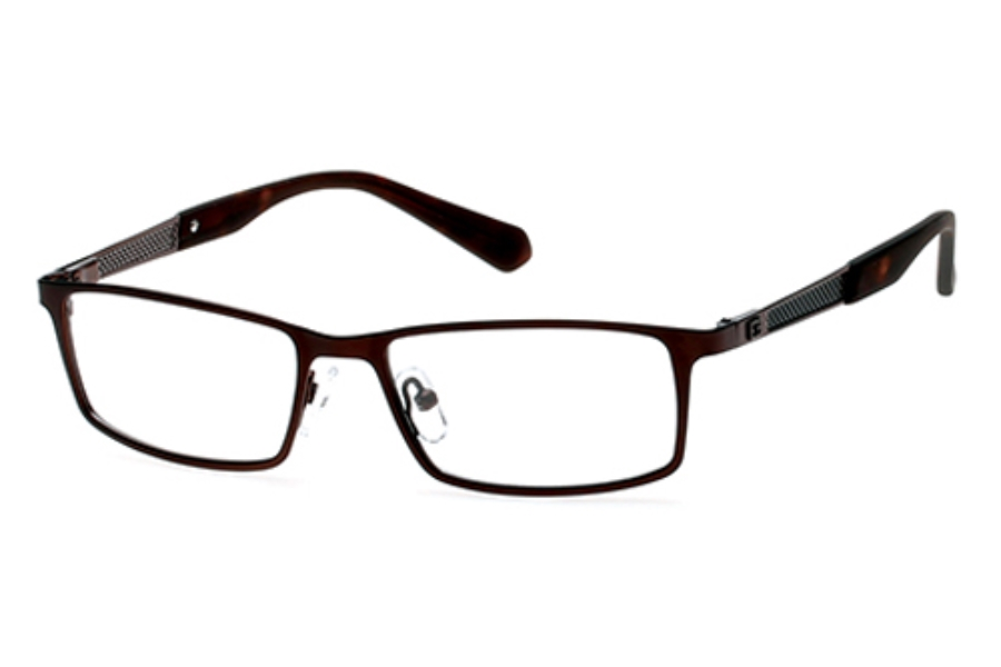 Guess GU 1860 Eyeglasses in 049 - Matte Dark Brown