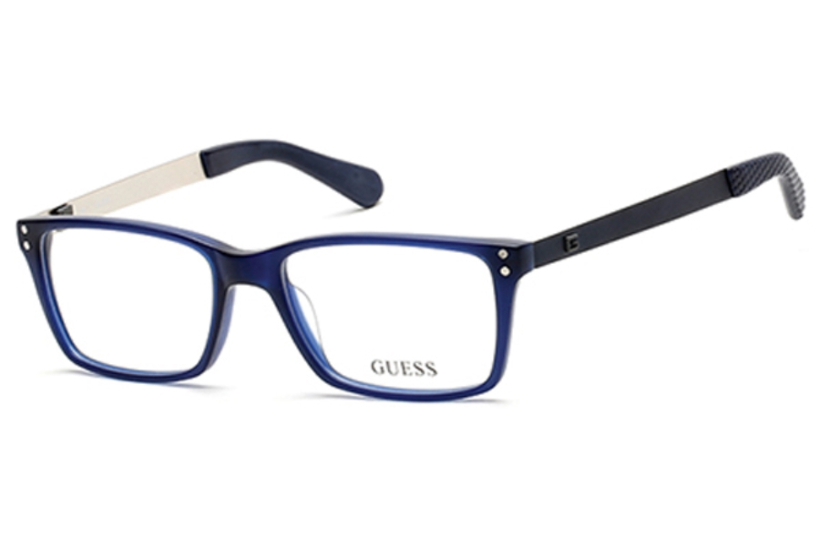 Guess GU 1869-F Eyeglasses in 091 - matte blue