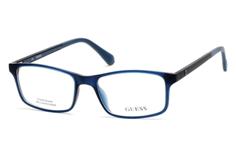 a4767ba5545 ... Guess GU 1872 Eyeglasses in 090 - shiny blue ...