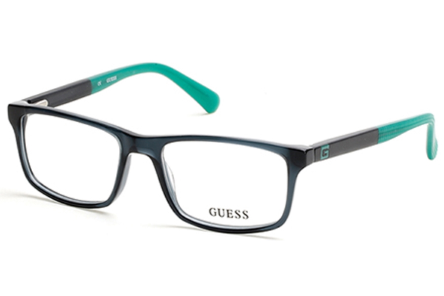 Guess GU 1878 Eyeglasses in 097 - matte dark green
