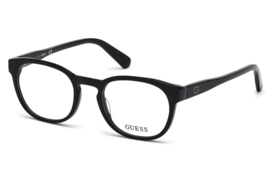 Guess GU 1907 Eyeglasses in 001 - Shiny Black