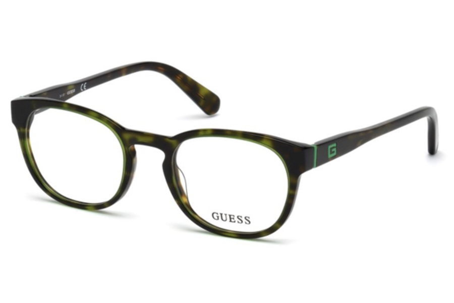 Guess GU 1907 Eyeglasses in 098 - Dark Green/Other