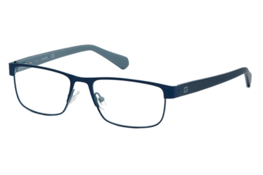 Guess GU 1910 Eyeglasses in 091 - Matte Blue