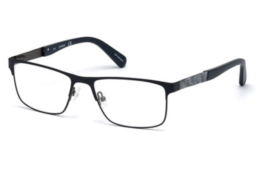 Guess GU 1928 Eyeglasses in 091 - Matte Blue