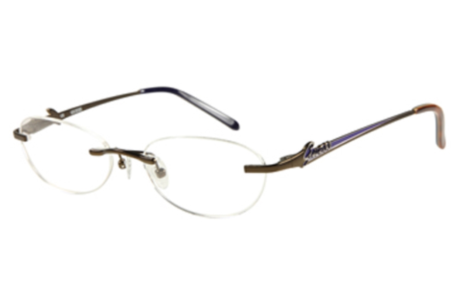 Guess GU 2277 Eyeglasses in BRN: BROWN