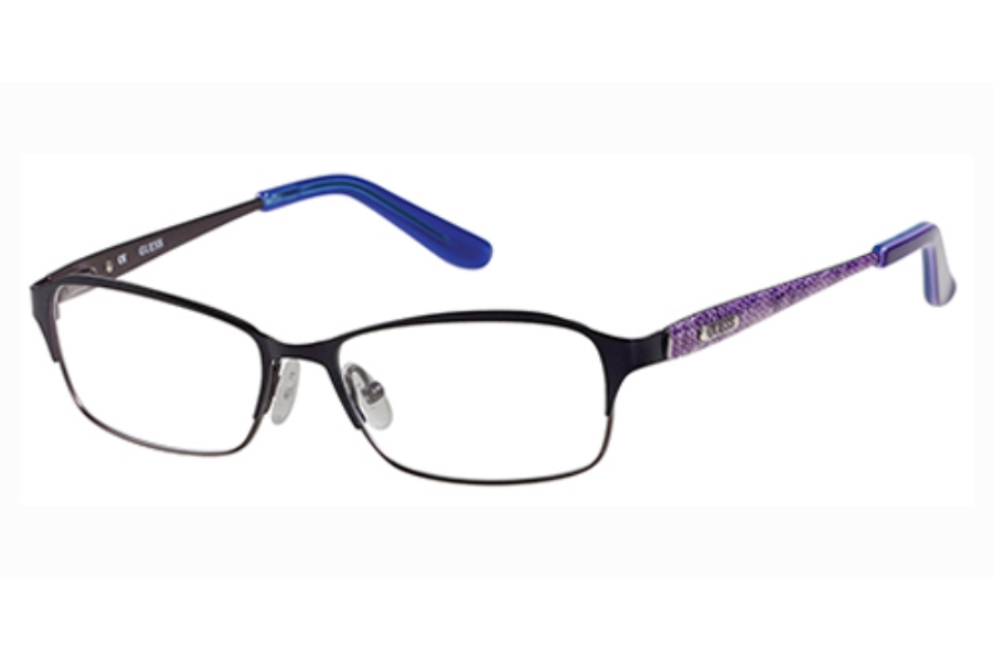 Guess GU 2424 Eyeglasses in O24 (PUR) (Discontinued)