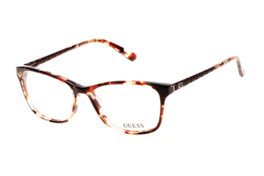 Guess GU 2500 Eyeglasses in 047 Light Brown/Other