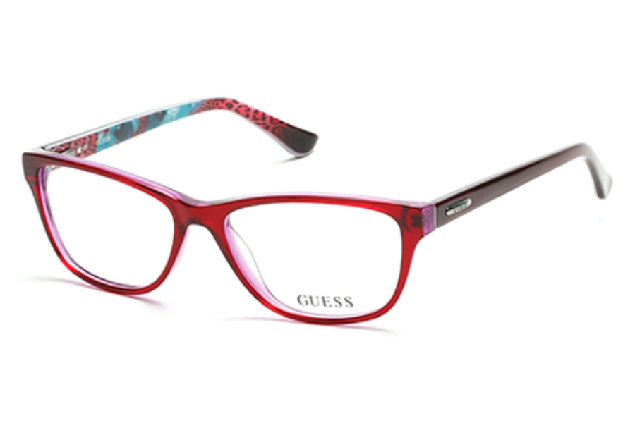 Guess GU 2513 Eyeglasses in 068 Red Other