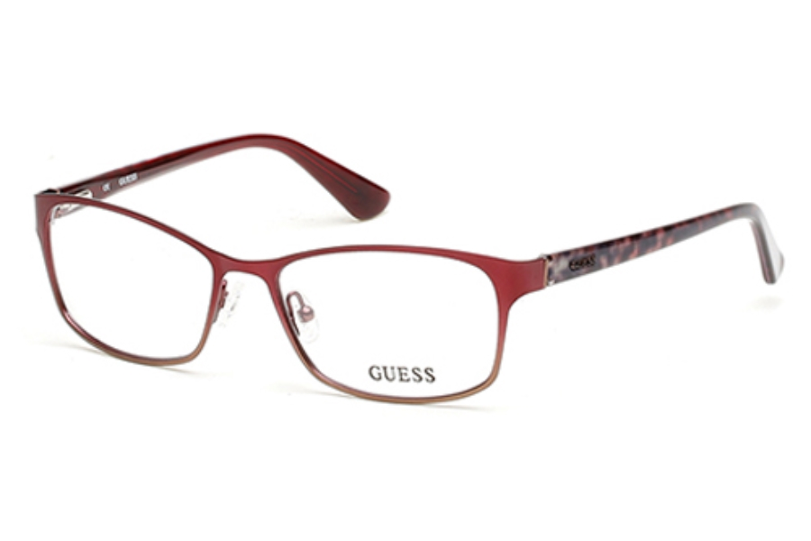 Guess GU 2521 Eyeglasses in 071 Bordeaux/Other