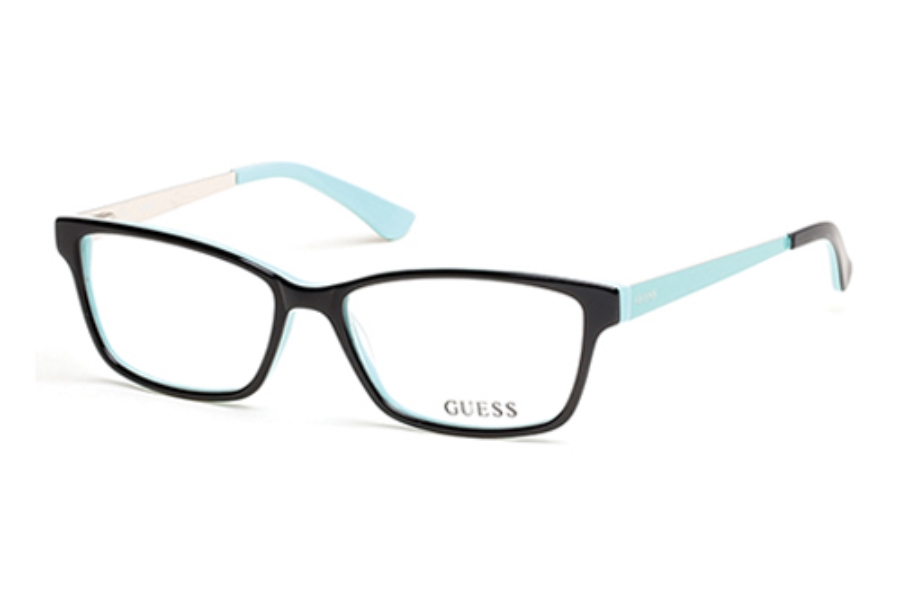 Guess GU 2538 Eyeglasses in 005 Black/Other