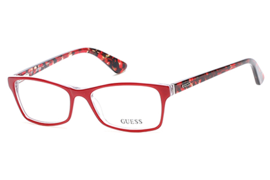 Guess GU 2549 Eyeglasses in 068 - Red/Other