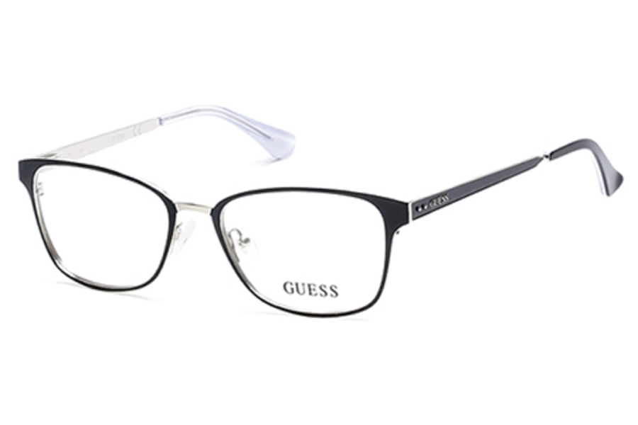 Guess GU 2550 Eyeglasses in 002 - Matte Black (Discontinued)