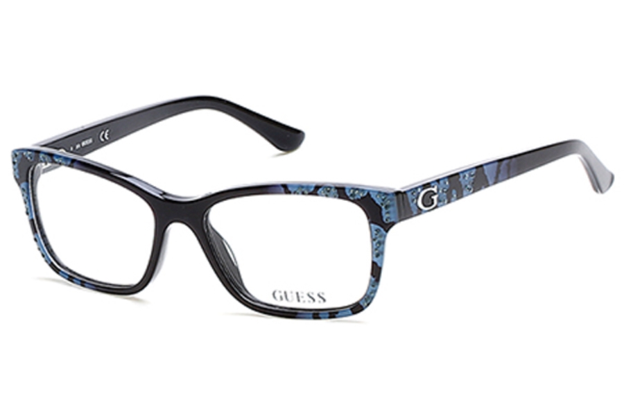 Guess GU 2553 Eyeglasses in 005 - Black/Other