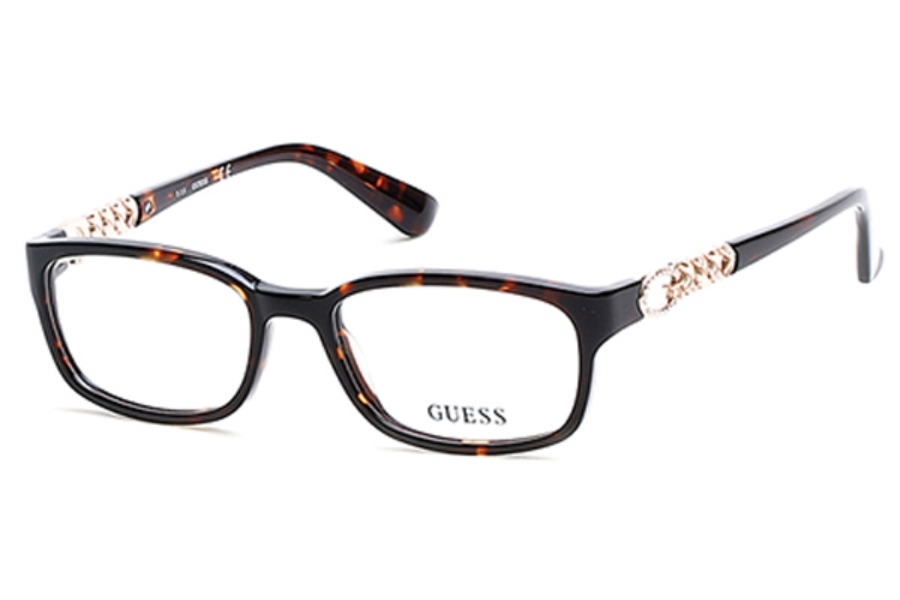 Guess GU 2558-F Eyeglasses in 068 - Red/Other