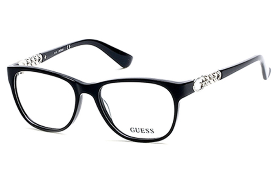 Guess GU 2559 Eyeglasses in 005 - Black/Other