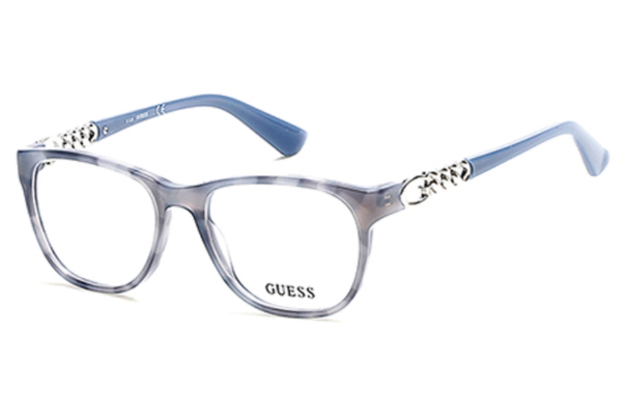 Guess GU 2559 Eyeglasses in 056 - Havana/Other