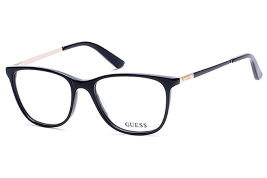 Guess GU 2566 Eyeglasses in 005 - Black/Other (Discontinued)