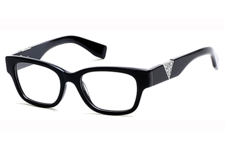 Guess GU 2576 Eyeglasses in 001 - Shiny Black