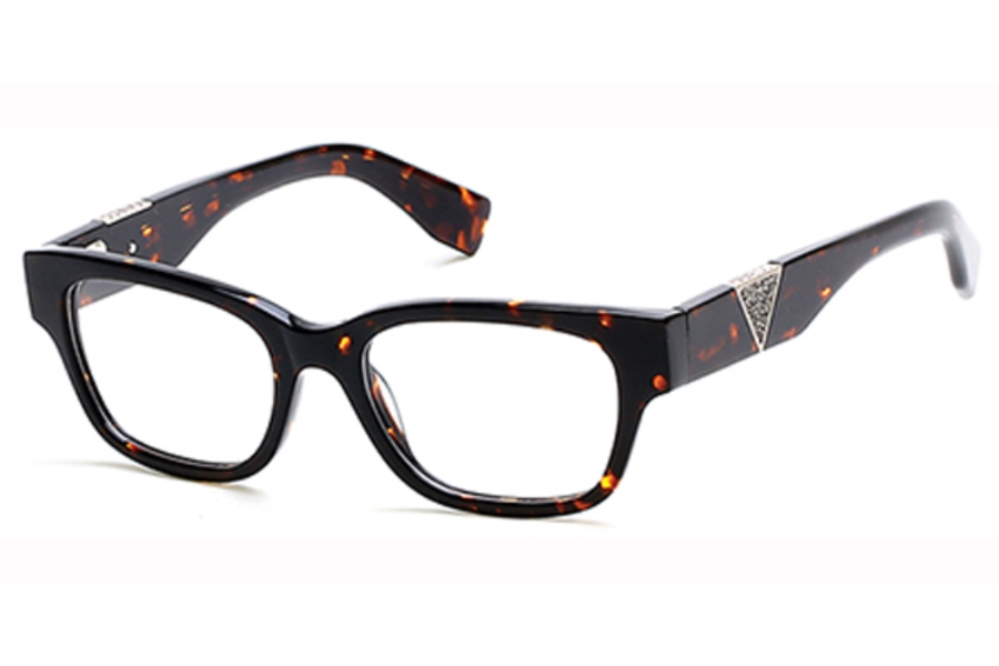 Guess GU 2576 Eyeglasses in 052 - Dark Havana