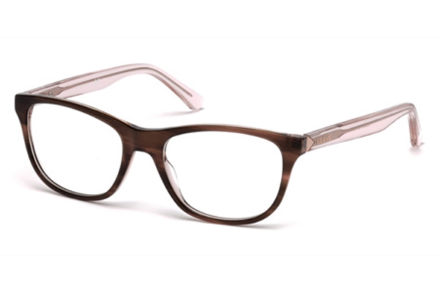Guess GU 2585 Eyeglasses in 047 - Light Brown/Other