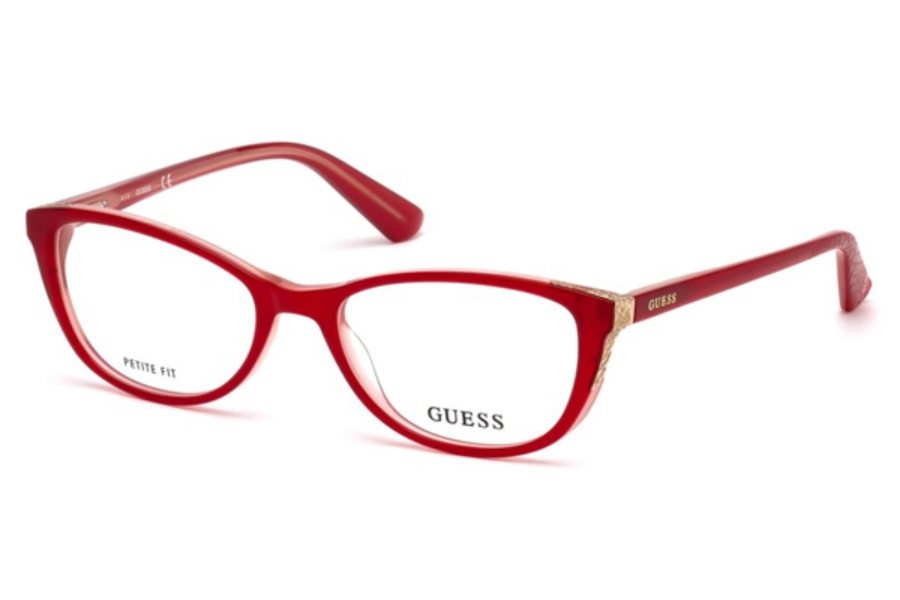 Guess GU 2589 Eyeglasses in 068 - Red/Other