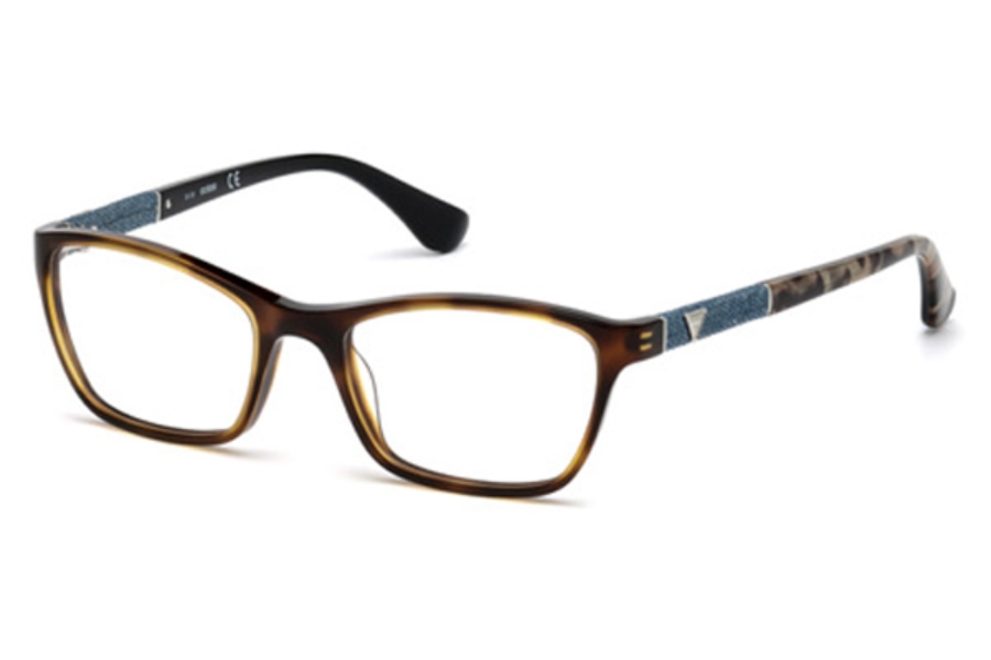 Guess GU 2594 Eyeglasses in 056 - Havana/Other
