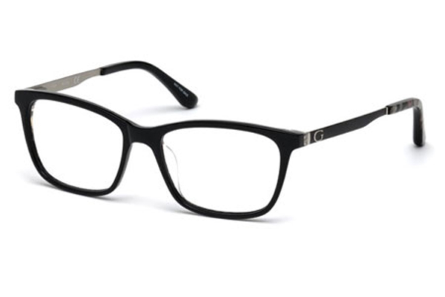 Guess GU 2630 Eyeglasses in 001 - Shiny Black
