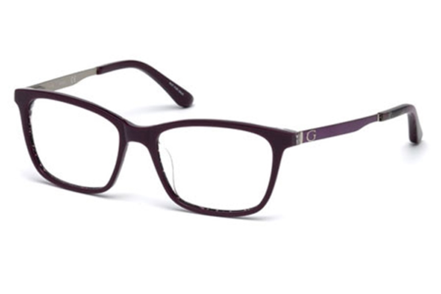Guess GU 2630 Eyeglasses in 083 - Violet/Other