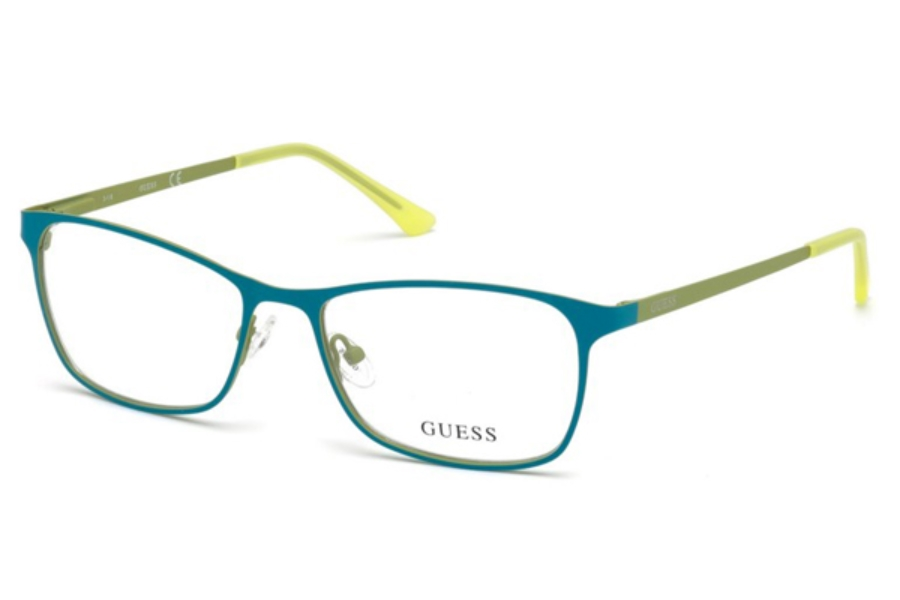 Guess GU 3012 Eyeglasses in 089 - Turquoise/Other
