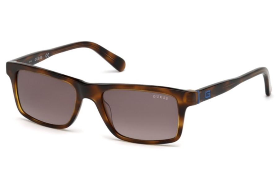 Guess GU 6886 Sunglasses in 62F - Brown Horn / Gradient Brown