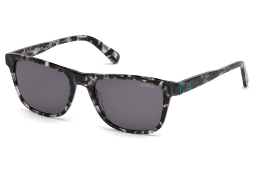 Guess GU 6887 Sunglasses in 05A - Black/Other / Smoke