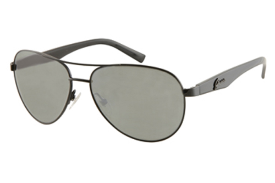 Guess GU 7138 Sunglasses in BLK-35: SHINY BLACK