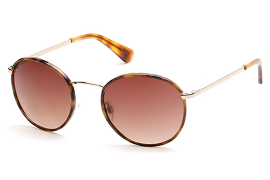 Guess GU 7415 Sunglasses in 32F - Gold / Gradient Brown