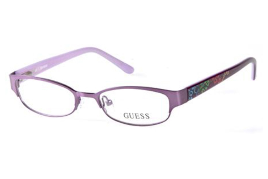 Guess GU 9110 Eyeglasses in O24 (PUR) Purple