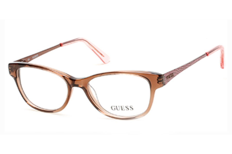 Guess GU 9135 Eyeglasses in 047 Light Brown/Other