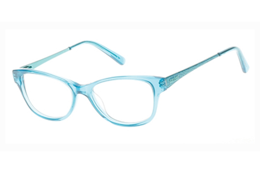 Guess GU 9135 Eyeglasses in 089 Turquoise/Other