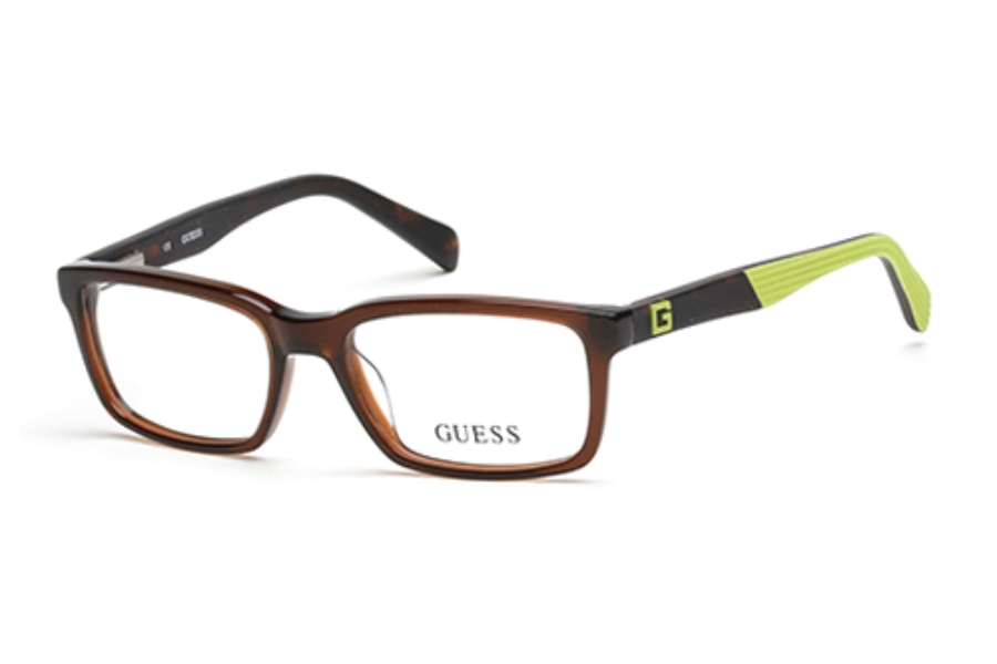 Guess GU 9147 Eyeglasses in 050 Dark Brown/Other