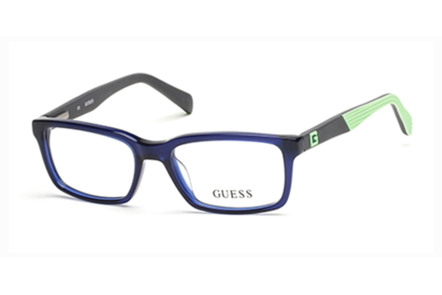 Guess GU 9147 Eyeglasses in 092 Blue/Other