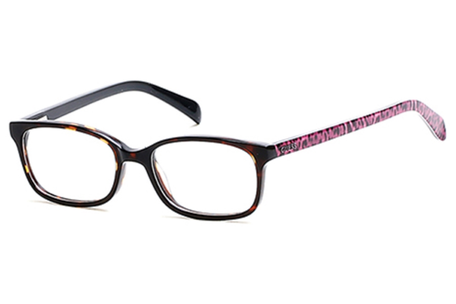 Guess GU 9158 Eyeglasses in 052 - Dark Havana