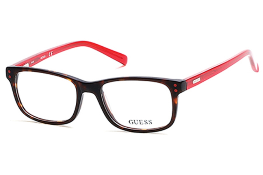 Guess GU 9161 Eyeglasses in 052 - Dark Havana