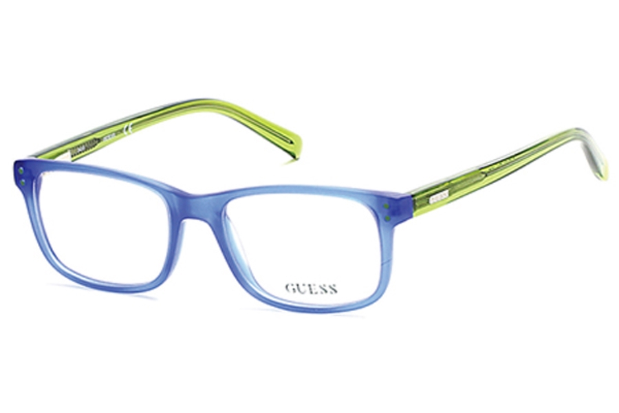 Guess GU 9161 Eyeglasses in 091 - Matte Blue