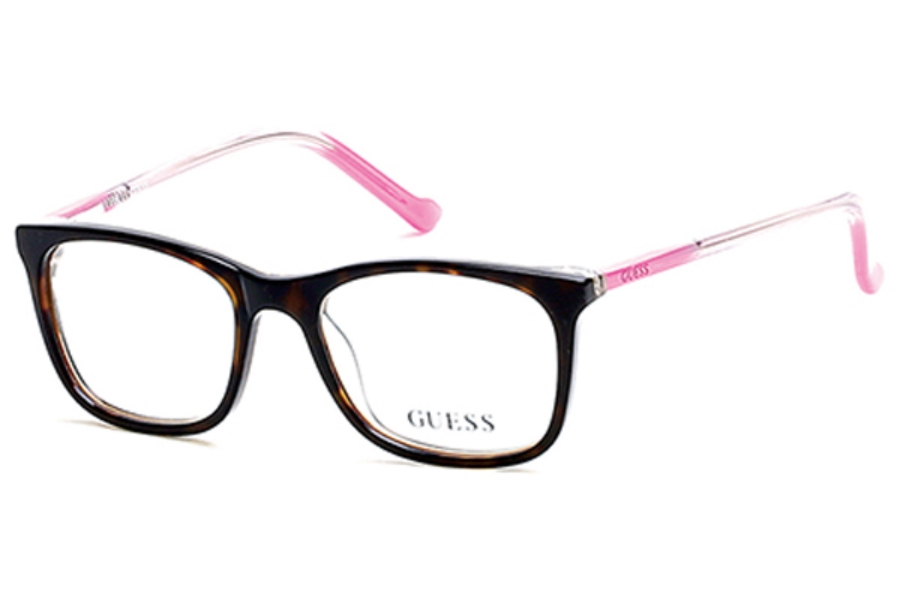 Guess GU 9164 Eyeglasses in 052 - Dark Havana