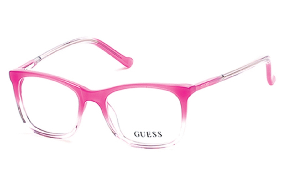 Guess GU 9164 Eyeglasses in 072 - Shiny Pink