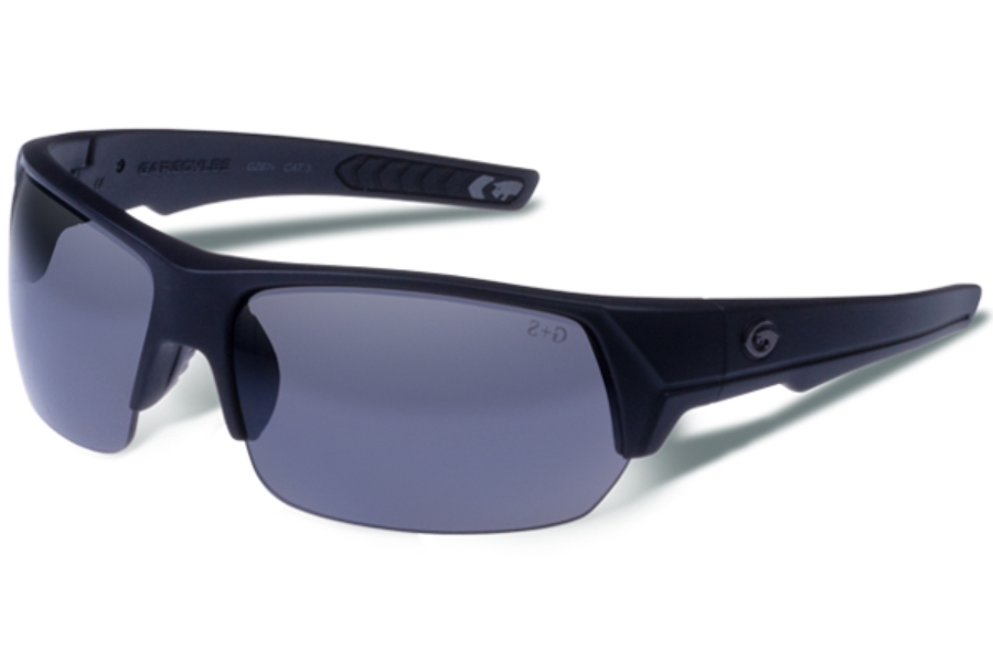 Gargoyles Recoil Sunglasses in Matte Black / Smoke Polarized