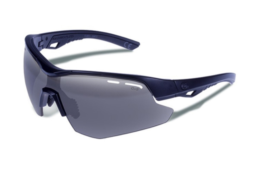 new Gargoyles Sunglasses Shield Black Matte Smoke