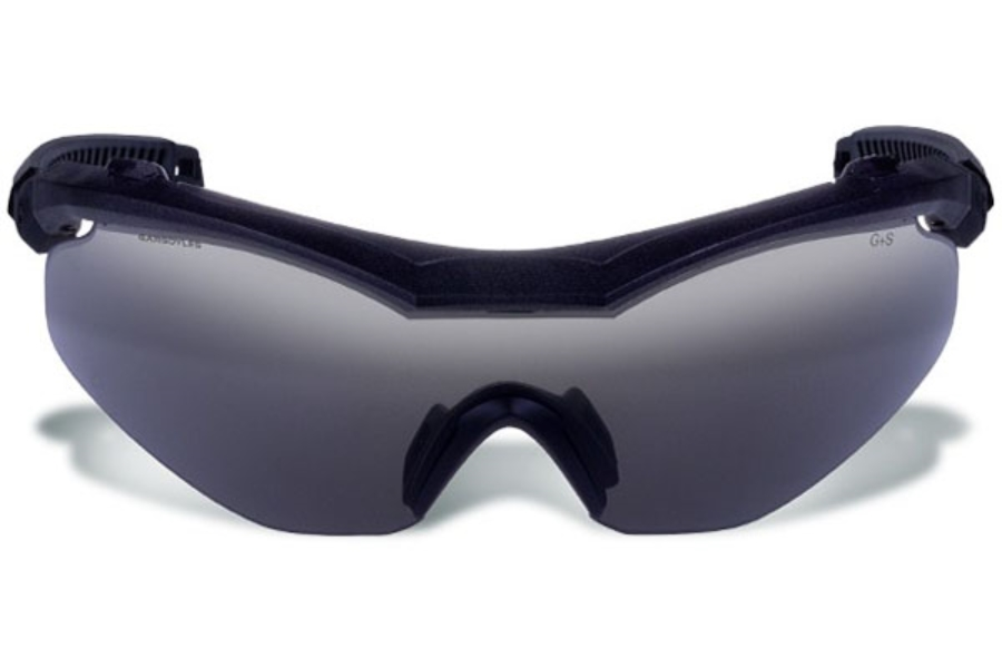 Gargoyles Trench Sunglasses in 10700160FP Matte Black/Smoke